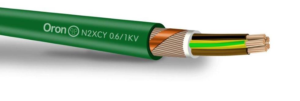 0.6/1KV N2XCY כבל מבודד XLPE מסוכך