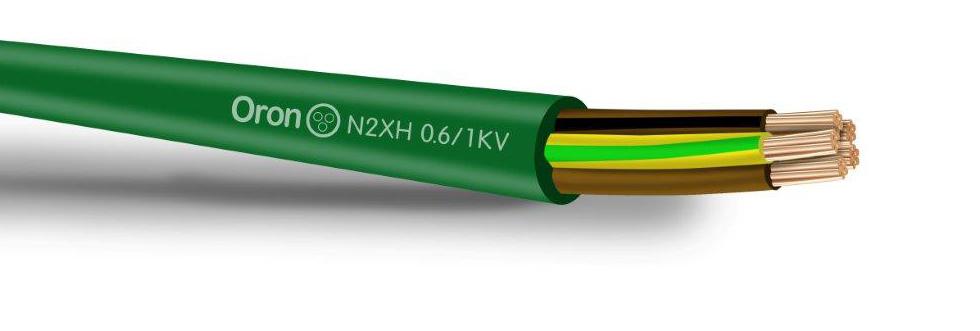 0.6/1KVN2XH כבל מבודד XLPE נטול הלוגן FR3