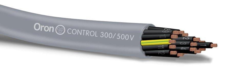 כבל H05VV5-F מוגן שמנים - בידוד PVC ומעטה חיצוני P