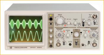 אוסילוסקופ דו ערוצי 50Mhz  DF-4351