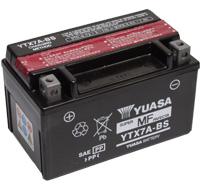 מצבר לאופנוע (ללא טיפול) YTX7A-BS YUASA 12V 6AH