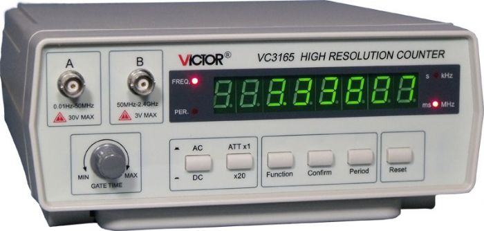מד תדר VC3165