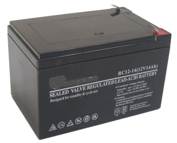 מצבר לממונע חשמלי 12V 14AH איסוף עצמי