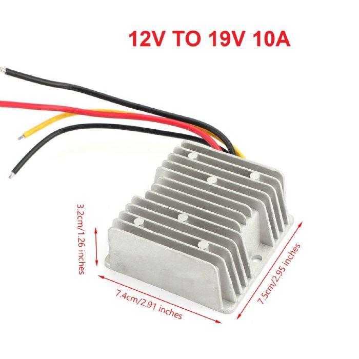 ממיר מתח מ-12V ל- 19V זרם 10A