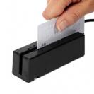 קורא מגנטי (שפתיים) לכרטיסי אשראי  USB