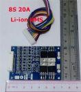 מעגל הגנה לסוללות ליתיום 29.6V 8S 20A