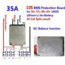 מעגל הגנה לסוללות ליתיום 36V 10S 35A
