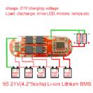 מעגל הגנה לסוללות ליתיום  18V  5cell 15A