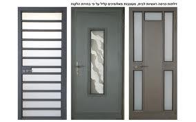 דלתות כניסה אלומיניום לבתים פרטיים