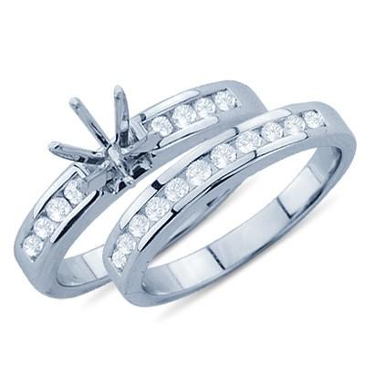 טבעת הר שוכן זהב לבן 14K