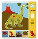 שבלונות דינוזאורים