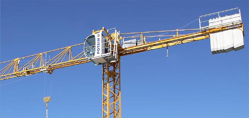 comasco - Potain Tower Crane