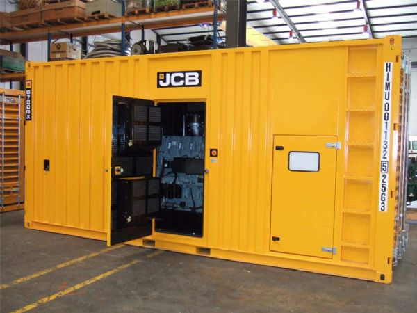 860–3300 kVA MTU גנרטור