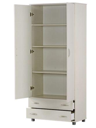 ארון 2 דלתות + 2 מגירות דגם 606 רהיטי יראון