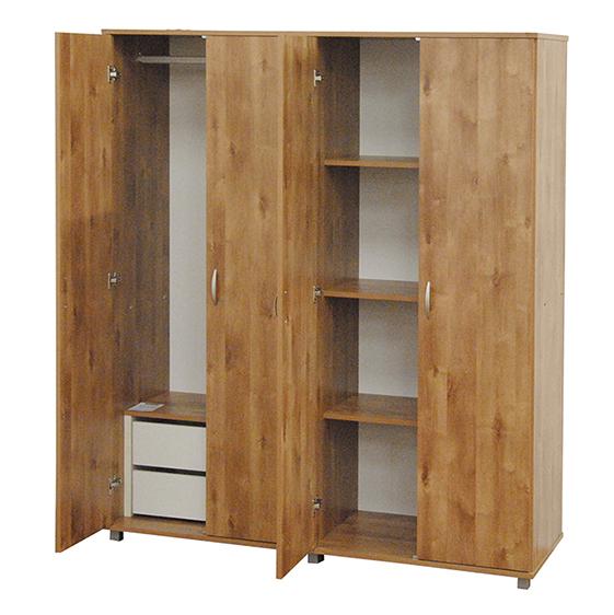 ארון 4 דלתות איכותי דגם 709 רהיטי יראון