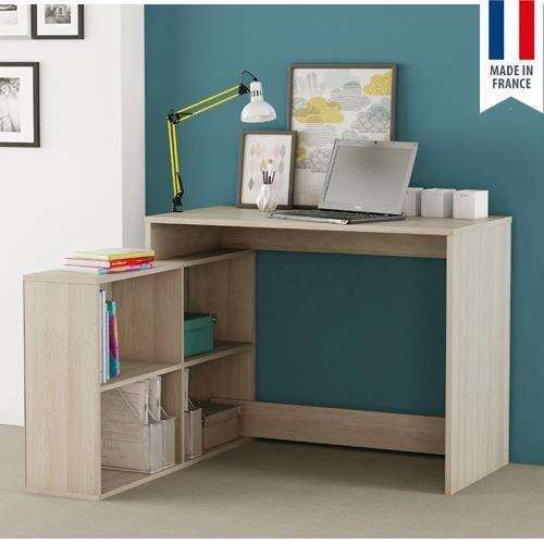 עמדת עבודה פינתית עם שולחן כתיבה משולב כוורת תוצרת צרפת