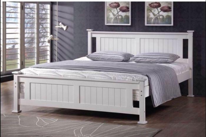 מיטה זוגית מיטה זוגית מעץ מלא BALENO Bradex