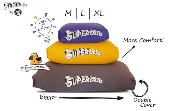 מיטה-מלונה לכלבים SUPERDOG Large