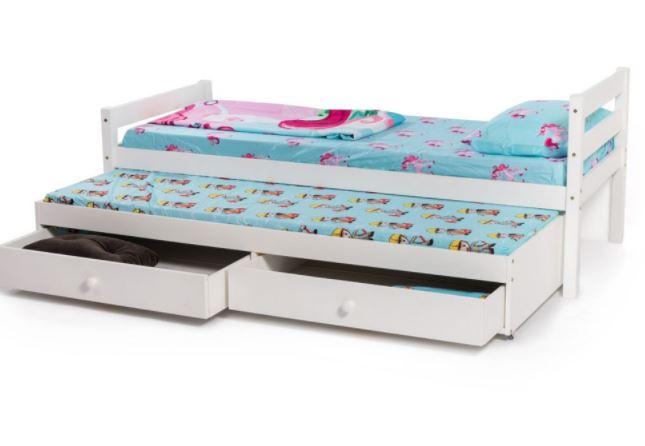 מיטת ילדים עם מיטת חבר ואחסון SUNNY BRADEX