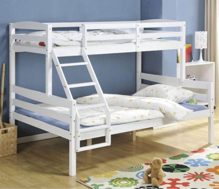מיטת קומתיים מעץ אורן מלא CRISTALL BRADEX