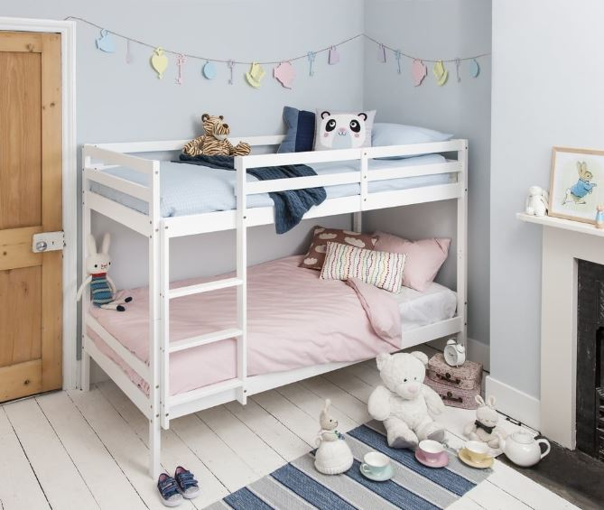 מיטת קומתיים מעץ מלא RICARDO