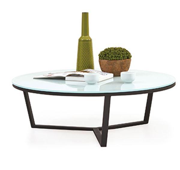 שולחן סלון עגול יוקרתי ARMIN