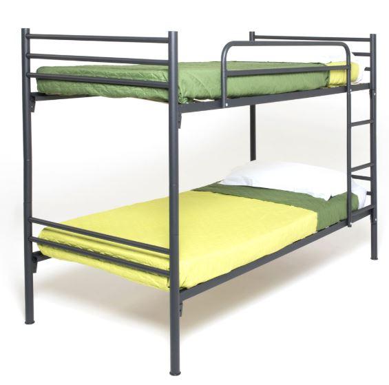 מיטת קומותיים ממתכת VOLARE