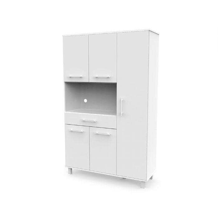 ארונית למיקרוגל רהיטי יראון דגם 408 צבע לבן