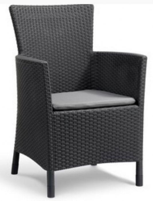 כסא דמוי ראטן דגם מונטנה תוצרת כתר