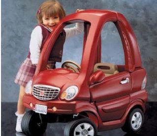 מכונית קופה אדומה STEP2