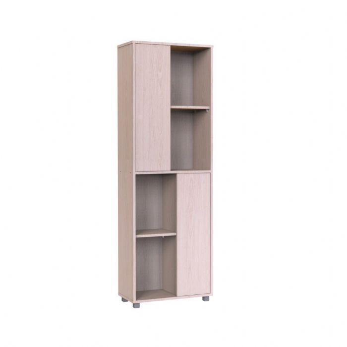 ספריית מדפים עם 2 דלתות מדורגות דגם 636 יראון