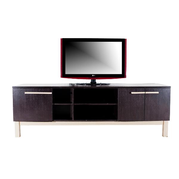 מזנון מעוצב לטלויזיה בעל מראה מודרני ונוכחות מרשימה