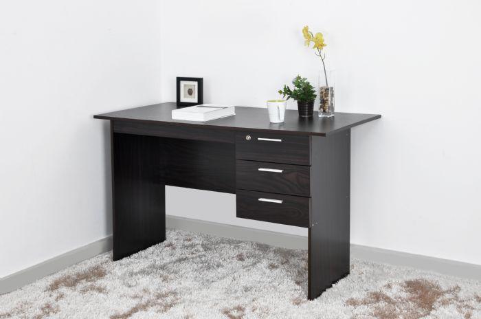 שולחן כתיבה איכותי הכולל 3 מגירות לאחסון