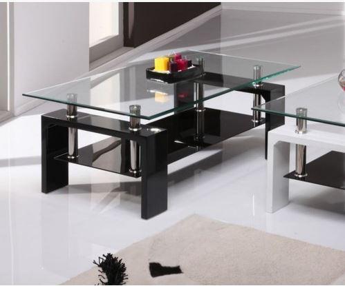 שולחן סלון מזכוכית דגם MILANO