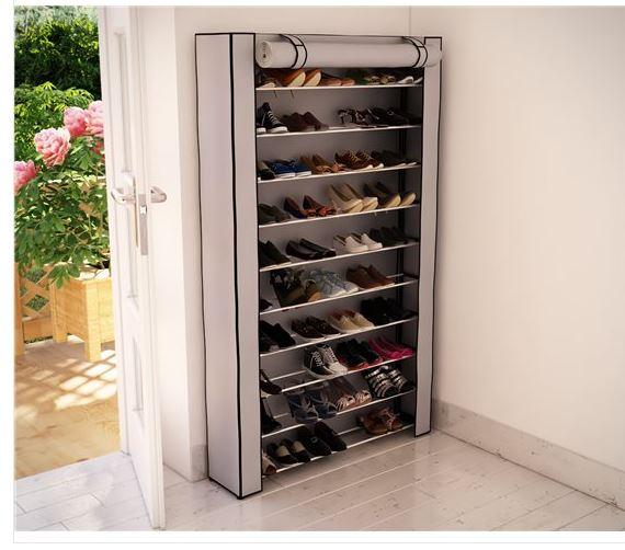 ארון נעליים ל 50 זוגות עם כיסוי