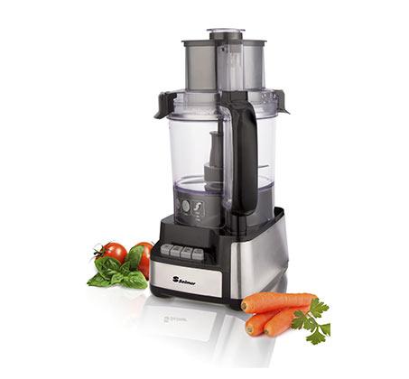 מעבד מזון Selmor בנפח 2.8 ליטר 450W עם פיה רחבה דגם SE-8400