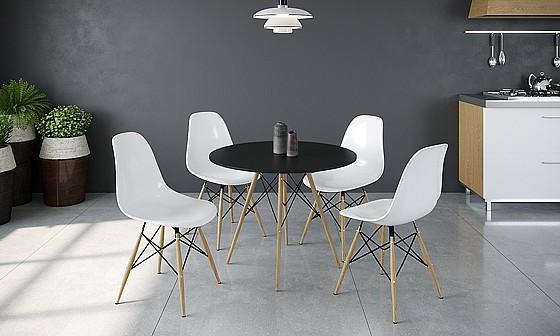 פינת אוכל מושלמת RAZCO עם ארבעה כסאות דגם סורנטו
