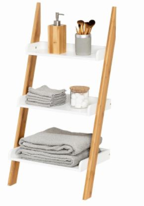 """מתקן אחסון ללא ברגים נשען על הקיר Honey Can Do דגם BTH-08789 מבית honey can do ארה""""ב"""