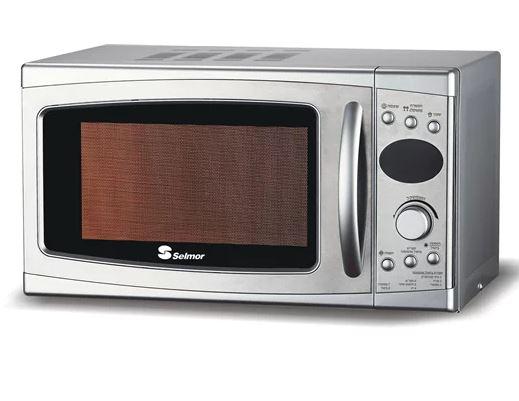 מיקרוגל דיגיטלי בעיצוב מהודר 20 ליטר בהספק 700W מעולה לחימום בישול והפשרת מזון מבית סלמור SE-468