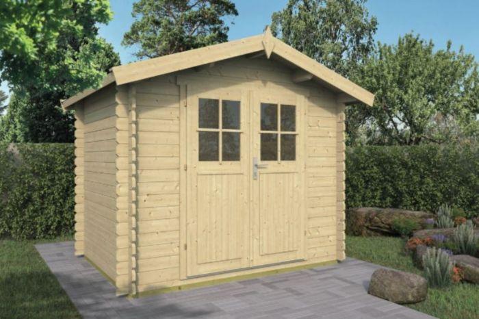 מחסן עץ, דגם: רוברט Robert מידה 2.60X 2.00 מטר