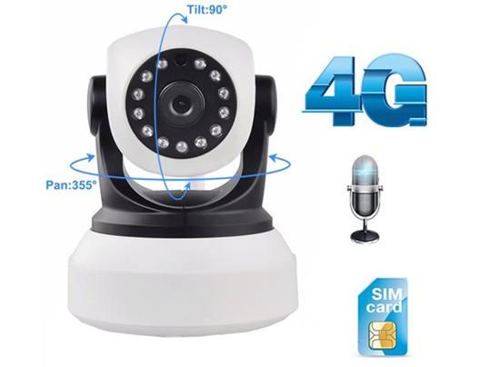 MATRIX מצלמת אבטחה IP אלחוטית סלולרית תומכת בקישוריות 3G ו 4G באמצעות כרטיס SIM
