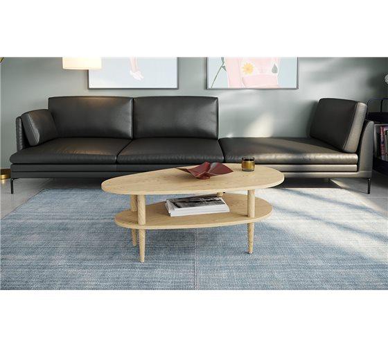 שולחן מודרני דגם נאפולי בשישה צבעים לבחירה Razco