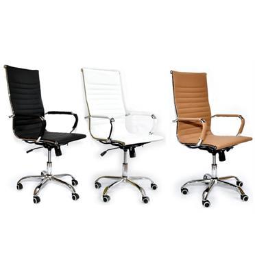 כסא מנהל אורטופדי נוח ואיכותי דמוי עור יוקרתי מבית ROSSO ITALY דגם MSH-1-18 בשלושה צבעים לבחירה