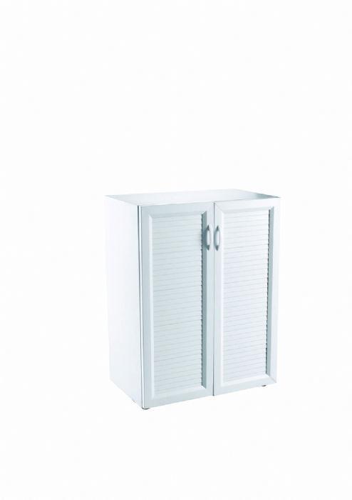 ארון נמוך 2 דלתות PVC דגם ארצ'ו 628S
