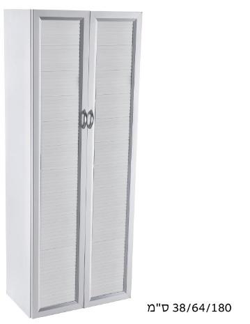 ארון 2 דלתות PVC דגם טיבולי 645S