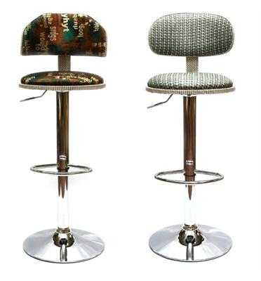 זוג כסאות בר מבית ROSSO ITALY דגם MSH-1-17 בשני צבעים לבחירה