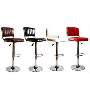 2 כסאות בר מבית ROSSO ITALY דגם MSH-1-13 בארבעה צבעים לבחירה