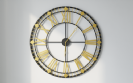 שעון קיר גדול מעוצב דגם אורלנדו Razco