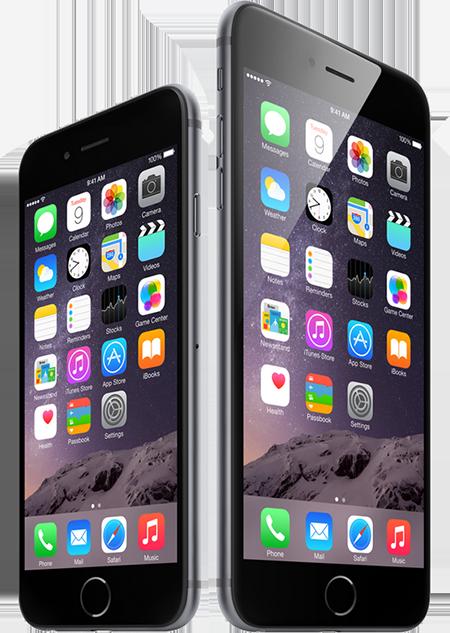 טלפון סלולרי Apple iPhone 6 Plus 64GB Sim Free