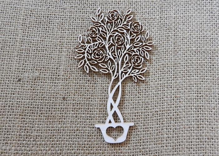 עץ פרחוני